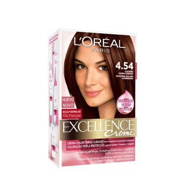Loreal Tintes Excellence 4.54