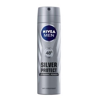 Nivea For Men Silver Protect Desodorante Spray 200 ml.