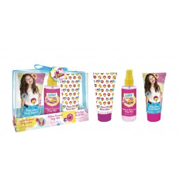 Soy Luna edt 100 ml + loción 95 ml + gel 95 ml