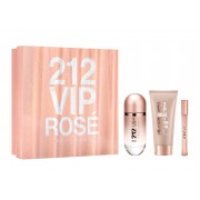 Carolina Herrera 212 Vip Rose edp 80 ml + body lotion 100 ml + miniatura 17 ml