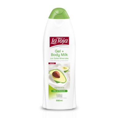 La Toja Gel Aguacate 550 ml.
