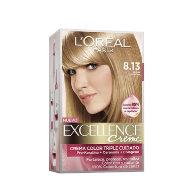 Loreal Tintes Excellence 8.13
