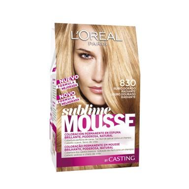 Loreal Tintes Sublime Mousse 830