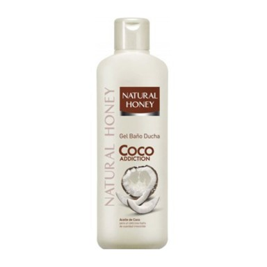 Natural Honey Gel Coco 650 ml.