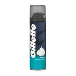 Gillette Espuma de Afeitar Piel Sensible 200 ml.