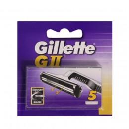 Gillette GII Recambios 5 Uds.