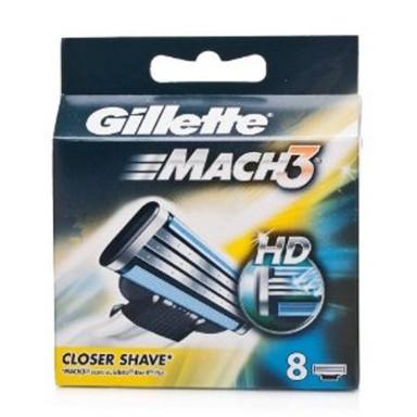 Gillette Mach 3 Recambios 8 Uds.