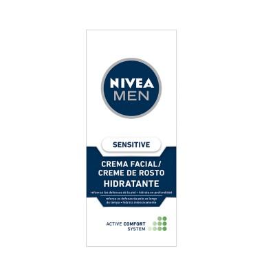 Nivea Men Gel Hidratante Sensitive 75 Ml.