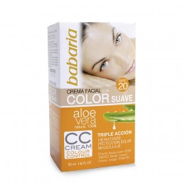 Babaria CC Cream con Color Suave F20 50 Ml.