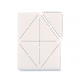 Esponja Desmaquillante Triangulos
