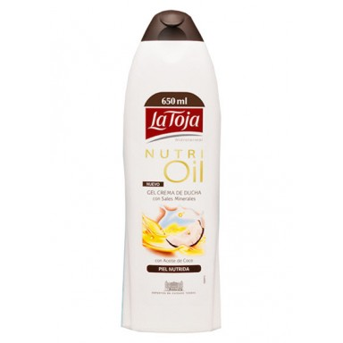La Toja gel 550 ml Nutri Oil Coconut