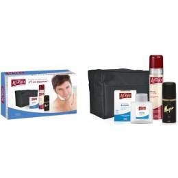 La Toja espuma afeitar sensible+after shave balsamo+deo Magno spray+neceser
