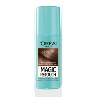 loreal magic retouch castaño spray retoque raices