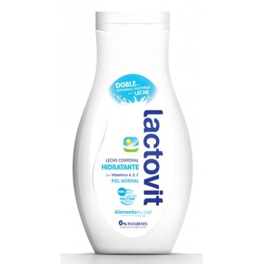 lactovit leche corporal piel normal 400 ml.