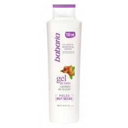 babaria gel almendras 750 ml.
