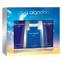 Don Algodon hombre edt 100ml+gel 75ml+balsamo 75ml