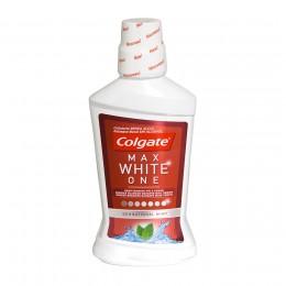 Colgate Enjague Bucal Max White One 500 ml.