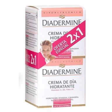 Diadermine Crema Hidratante Seca Sensible 50 ML 2 x 1