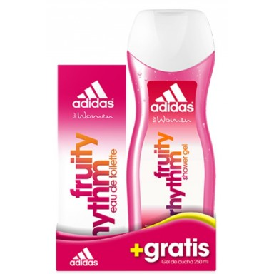 Adidas Woman Fruity Rhythm edt 50 ml+ gel 250 ml