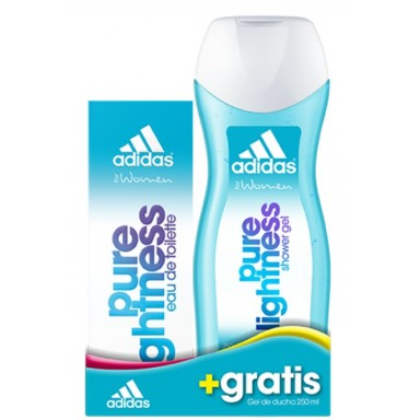 Adidas Woman Pure Lightness edt 50 ml + gel 250ml