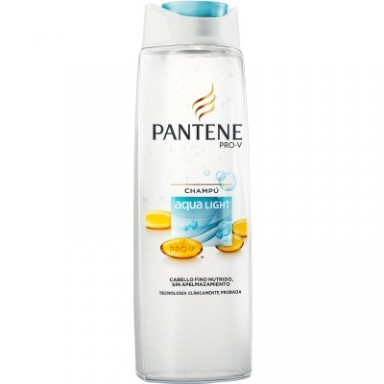 Pantene champu 270 ml Aqualight