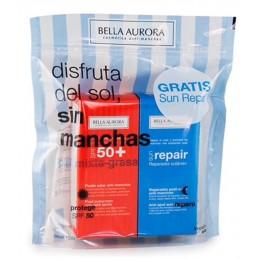 Bella Aurora solar gel 50 ml F-50 piel mixta/grasa + regalo