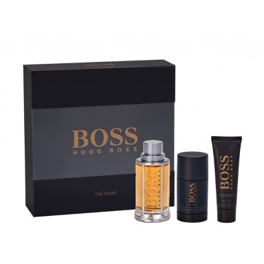 Boss The Scent man edt 100 ml + deo stick 75 + gel 50ml