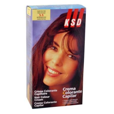 ksd tinte 5.5 castaño claro caoba