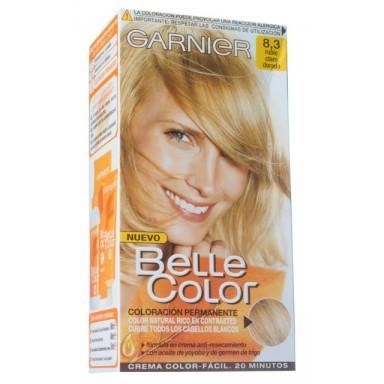 belle color 8.3 rubio claro dorado