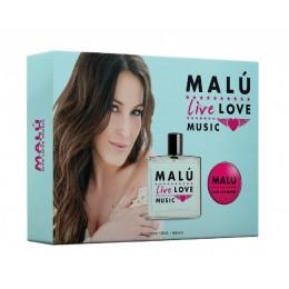 malu live edt 100 ml vap. + body lot. 75 ml