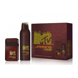 MTV him Jamming Vibe estuche edt 50ml+deo spray 200ml