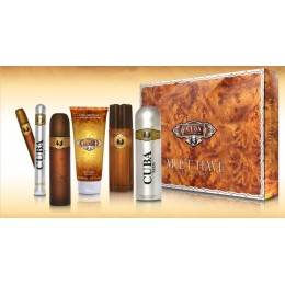 Cuba Must have Gold Set Edt