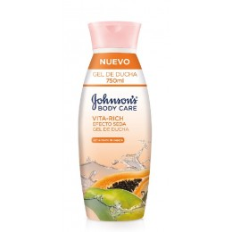 Johnson's gel 750 ml Vitarich papaya