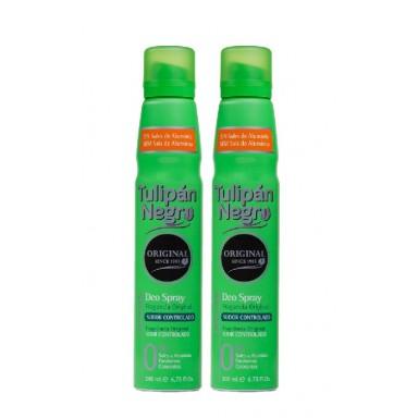 Tulipán Negro desodorante spray 200 ml duplo