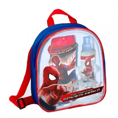 SPIDERMAN EDT 200 + GEL 475 MOCHILA