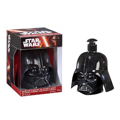 Star Wars figura 3D gel&champú 500 ml Darth Vader