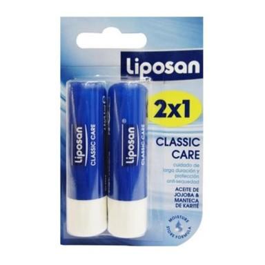 liposan barra de labios protectora clasico 2x1