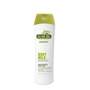 babaria olive oil body milk 400 ml.