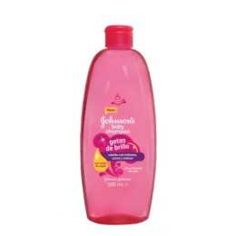 johnsons champu gotas de brillo 500 ml.