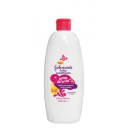 johnsons acondicionador gotas de brillo 500 ml.