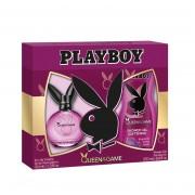 Playboy female Queen Game edt 60 ml vapo+gel ducha 250 ml