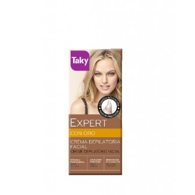 Taky Oro Crema Depilatoria Facial 20 ml.