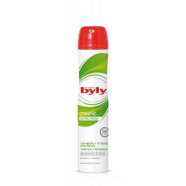 Byly Organic Desodorante Spray 200 ml.