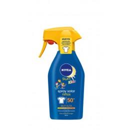 Nivea Spray Niños Sensitive F50+ 200 ML.