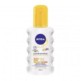 nivea niños sensitive f50 spray 200 ml.