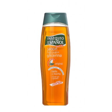 instituto español jabon glicerina natural 750 ml.