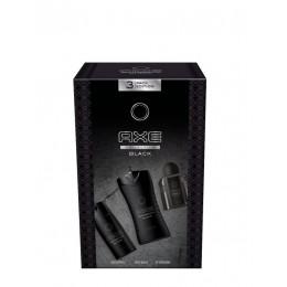 Axe Black pack trio (gel 250 ml + desodorante spray 150 ml + masaje 100 ml)