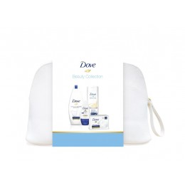 Dove neceser (gel 540ml + body milk 400 ml + deo. rollon + jabon)