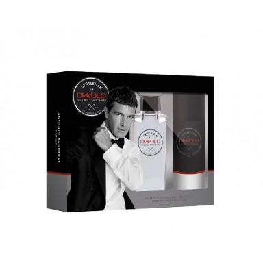 Antonio Banderas Diavolo Gentleman edt 100 ml vapo + desodorante spray 150 ml