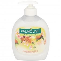 palmolive jabon leche & almendras 300 ml